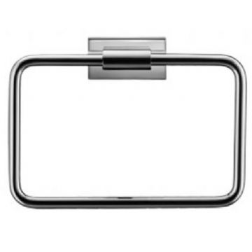 Duravit Karree Chrome Towel Ring - 0099611000